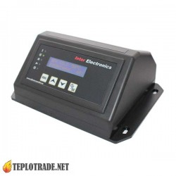Автоматика для пеллетного котла Inter Electronics IE 70 управление насосом Ц.О. и Г.В.С.