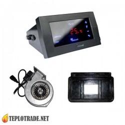 Комплект автоматики для котлов на твердом топливе Viadrus U22, Danko CS-19+WPA-06/07