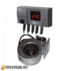 Комплект автоматики для котлов на твердом топливе KG ELEKTRONIK CS-20+WPA X2