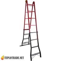 Лестница ELKOP B45-FS - 20 ступенек (высота 420 см)