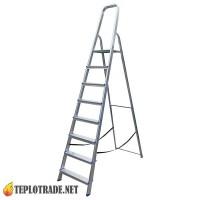 Стремянка ELKOP ALW 508 - 8 ступенек (высота 364 см)