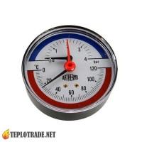 Термоманометр ARTHERMO TI003 0-120 °C/0-4 Bar