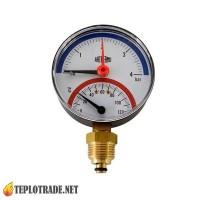 Термоманометр ARTHERMO TI110 0-120 °C/0-4 Bar
