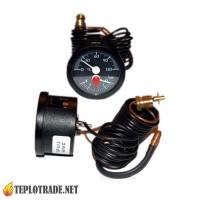 Термоманометр капиллярный 0-120 °C/0-4 Bar