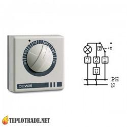 Механический комнатный термостат CEWAL RQ05