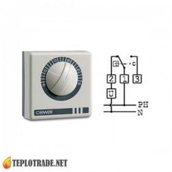 Механический комнатный термостат CEWAL RQ10
