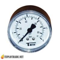 Манометр T-METER 0-6 Bar