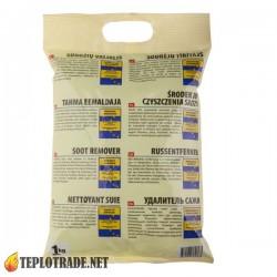 Химия для чистки котлов и дымоходов Hansa в пакете 1 кг.