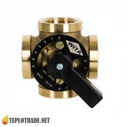 """Термостатический четырехходовой смесительный клапан Wita Minimix 4x2"""" DN 50"""